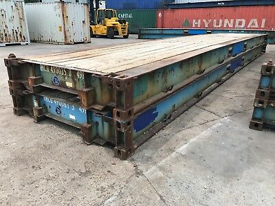 40' Plat form PF Container