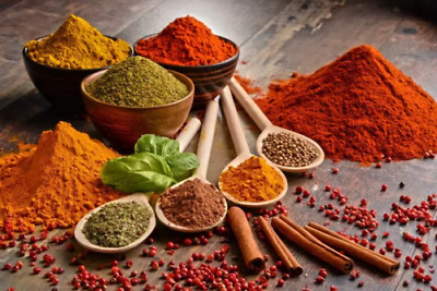 Assorted Ground Spices Masala 29 Different Masala Varieties From India