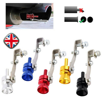 Universal Turbo Exhaust Whistler Whistle Sound Car Dump Valve Simulator Tailpipe