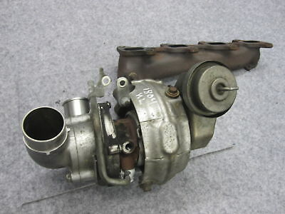 TOYOTA AVENSIS T25 2,2 Cat D 177ps TURBOCOMPRESSORE COLLETTORE DI SCARICO