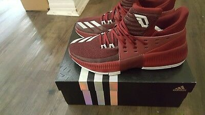 competitive price d7145 688f8 adidas Dame 3 Shoes Men s basketball size 10 maroon
