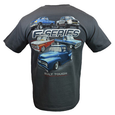 FORD F Series Mens Tee T Shirt Trucks American Muscle Car Racing Logo Sleeve NEW