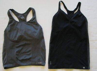 fb044e8ec55dfd Champion Sports Bra Tank Top Vapor Gear Womens Size Medium Lot of 2