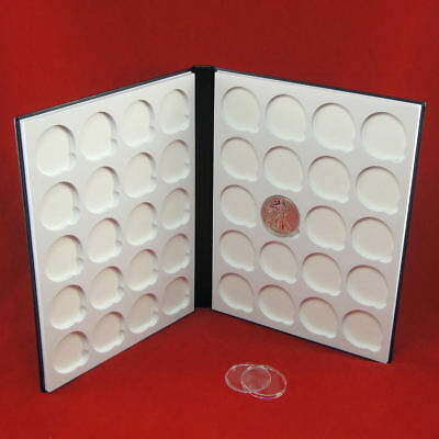 Book of Silver Capsule Album for 1 oz American Silver Eagles in H40 Airtites