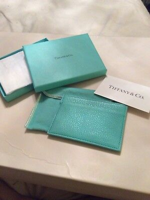Tiffany & Co Card Case-New-Retail $175