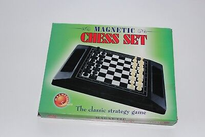 Magnetic Chess Small Board Box Set Kid Educational Game Folding Portable