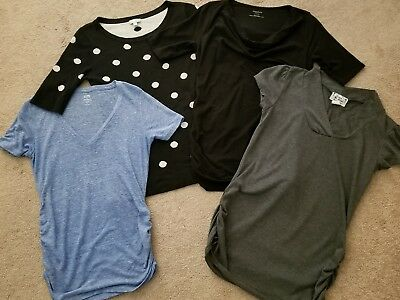 Motherhood Pea in the Pod Old Navy Maternity Casual Shirt Top Lot S