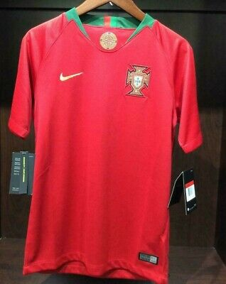 Nike YOUTH (kids) Portugal World Cup 2018 Red jersey Home Stadium - 893995- 7a758f092