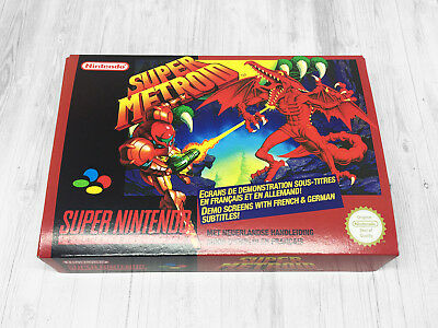 Boite SNES / Box (+ extras) : Super Metroid
