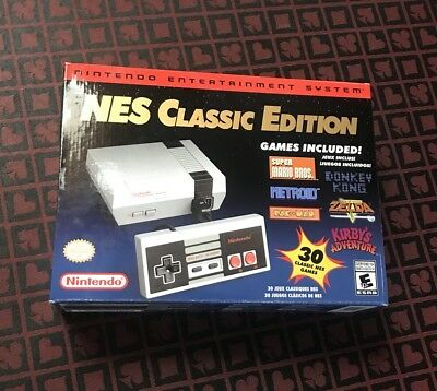 NES Classic Edition Mini Nintendo Entertainment System Brand New SEALED Genuine