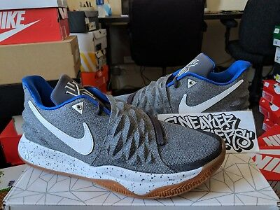 uk availability 5b19c 4da8a NEW NIKE KYRIE 4 Uncle Drew Shoes Mens Grey Gum Athletic Low ...