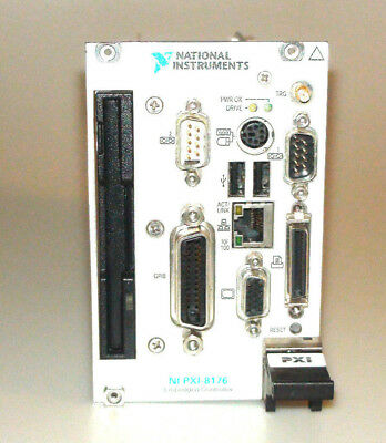 National Instruments NI PXI-8176 Embedded Controller