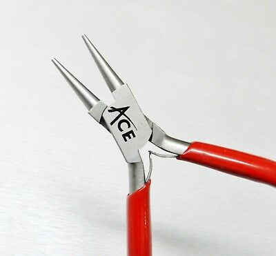 """Round Nose Pliers Jewelry Making Wire Wrapping Beading Hobby Crafts 5"""" - 130mm"""