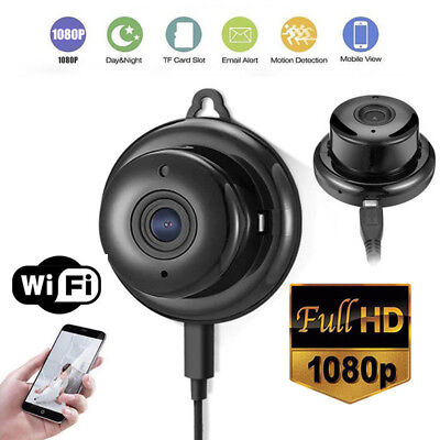 HD 1080P Wireless Mini WIFI Smart IP CCTV Camera Cam Home Security Night Vision