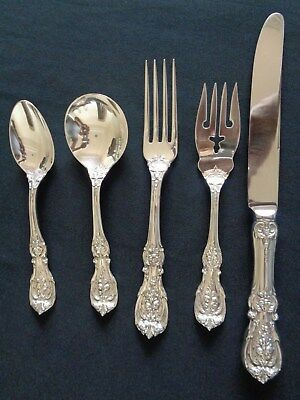 Francis I By Reed & Barton Sterling Silver 5 Pcs Place Setting 12 Are Available