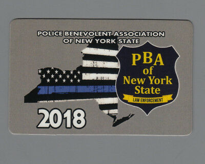 2018 PBA CARD New York State Law Enforcement