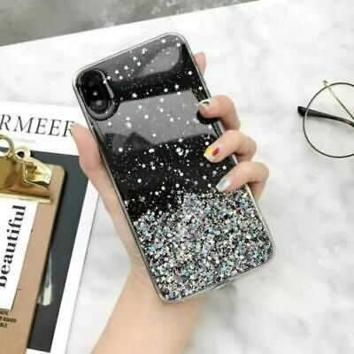 Luxury Bling Glitter Sparkle Clear Case Cover for Apple iPhone Xs Max Xr X 8Plus