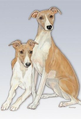 Whippet Blank Note Card