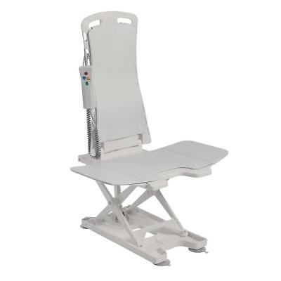 Drive DeVilbiss Healthcare Bellavita Lightweight Reclining Bath Lift with White