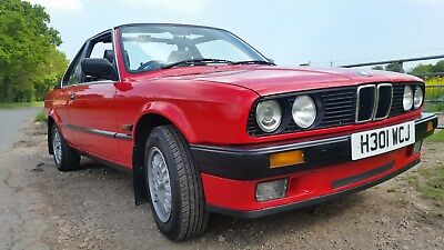 For Sale 1990 BMW E30 316i Convertible / Cabriolet with TC2 Baur roof