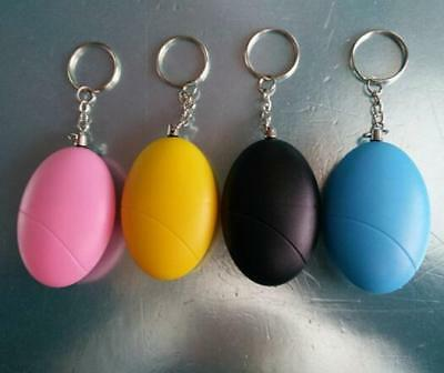 Chic Self Defense Keychain Personal Alarm Emergency Siren Song Survival Whistle