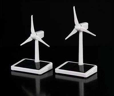 Mini Wind Turbine Generator Model Solar Wind Power Windmill Educational DIY Mode