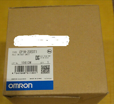 CP1W-20EDT1 Omron expansion 12 inputs 8 transistor output unit for PLC CP1 serie