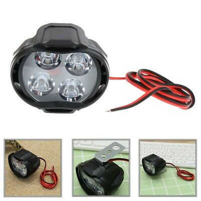 Motorcycle Headlight Spot  Lights Head Lamp 4 LED Front DC12V Driving 12W
