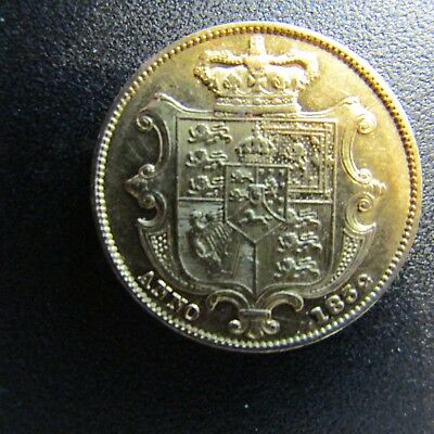 1832 Full Sovereign Very Rare Nose Pointing To Second  N In Britannia