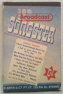 Broadcast 19th Songster - 36 pages - 15.8 x 10.3cm