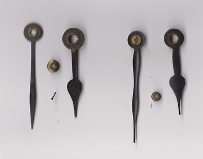Clock  Parts ,2 Pairs Ofclock  Hands , 61 / 52 ,  64  / 48