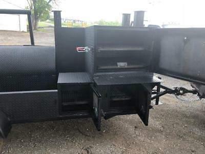 Propane Assist Pizza Oven Pro BBQ Grill Smoker Grill Trailer Food Truck Catering