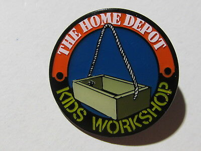 home depot collectibles home depot old style kids workshop  lapel pin