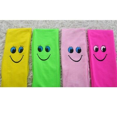 Smiley Face Summer Tights for Girls