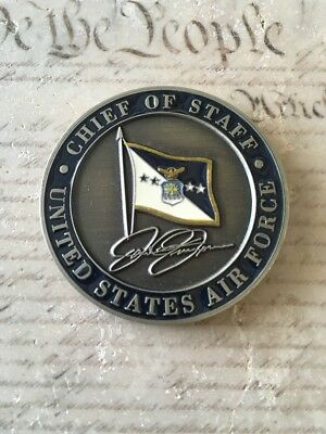 General John Jumper 17th Chief of Staff US Air Force USAF '01-'05 Challenge Coin