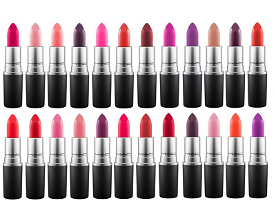MAC Lipstick, Multiple Colours Shades to choose,Velvet Teddy, Ruby Woo,Chilli