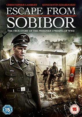 Escape From Sobibor  with Christopher Lambert New (DVD  2018)