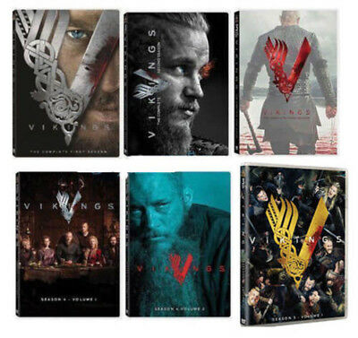 Vikings: The Complete Series, Seasons 1-4, 5 (18 Disc Set) NOW AVAILABLE!!