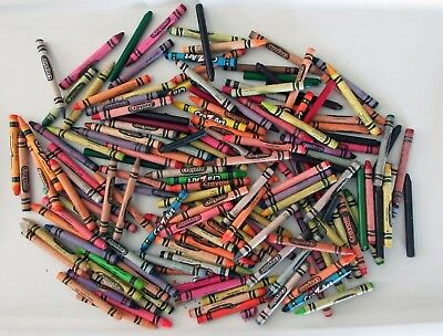 Bulk Lot Approximately 2lbs Crayons For Craft Art Projects
