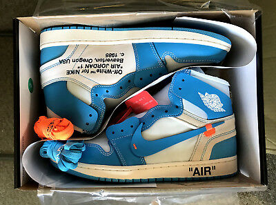 Off White x Jordan 1 UNC Blue | AQ0818 148