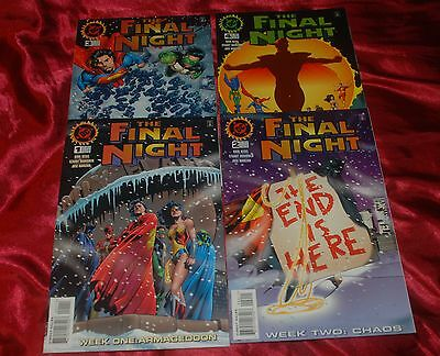 2 Complete Vintage 1996 JUSTICE LEAGUE Limited Series from DC Comics - 7 Books!!