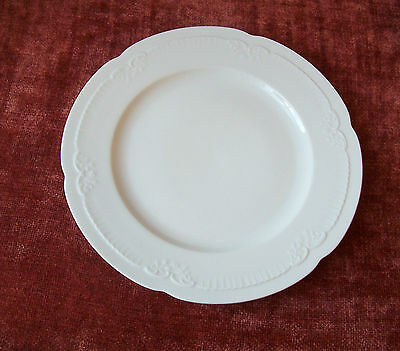 1 Franconia White Dinner Plate (5 Avail) Krautheim K & A Selb Bavaria German
