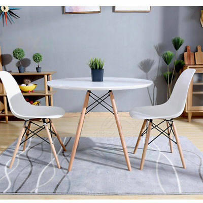 Dining Table Chairs Retro Eiffel Style Wood Legs Kitchen