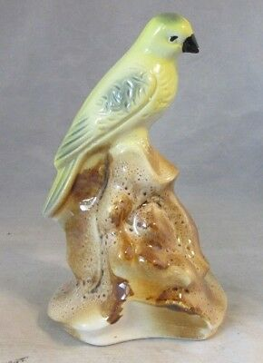 Ceramic figurine of parrot, bird made in Brazil