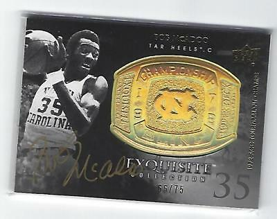 2011 - 2012 Exquisite Collection Championship Bling Bob McAdoo AUTO 66/75
