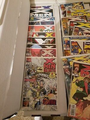 X-Men Unlimited #1-50 complete set Condition VF-NM (Marvel)