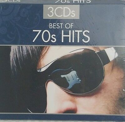 BEST OF 70s HITS (3 SET) - Various Artists  - 3 CD - New Sealed