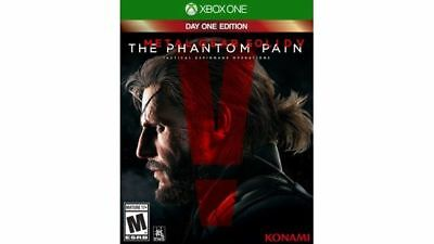 Metal Gear Solid V: The Phantom Pain Day One Edition (Microsoft Xbox One, 2015)