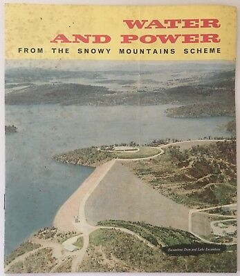 Water and Power - from the Snowy Mountains Scheme 1965 12 page Brochure