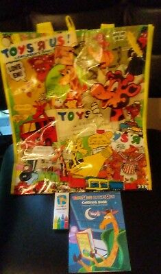 TOYS R US Geoffrey And Friends Coloring Books, crayons, reusable ...